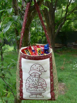 Santa goody bag