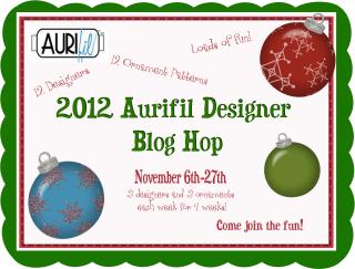 Aurifil blog hop logo #2