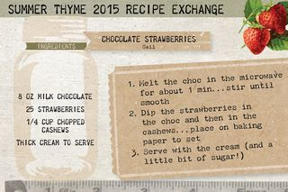 Recipe card Summer 20159
