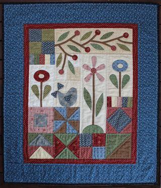 Patchwork gardencover