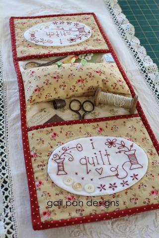 I stitch i quilt