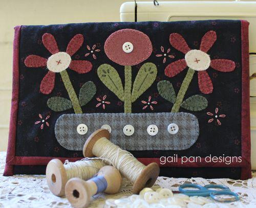 Warm winter sewing pocket