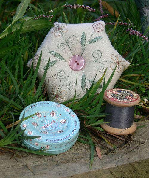 Cottage garden pincushion