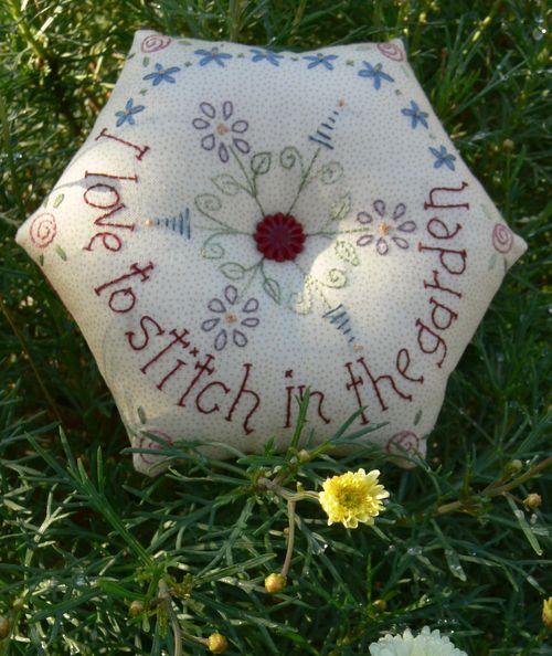 Stitch in the garden